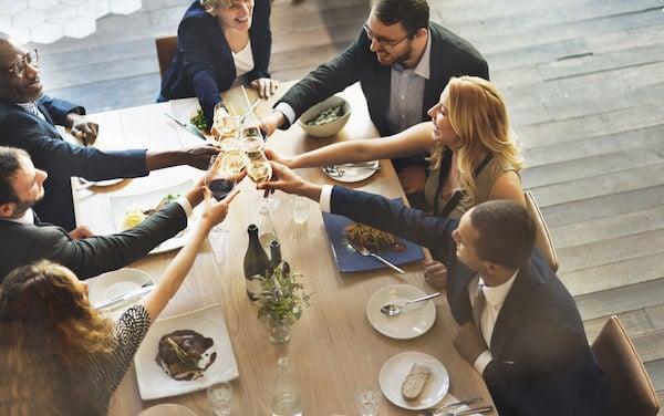 employee wellness dinner