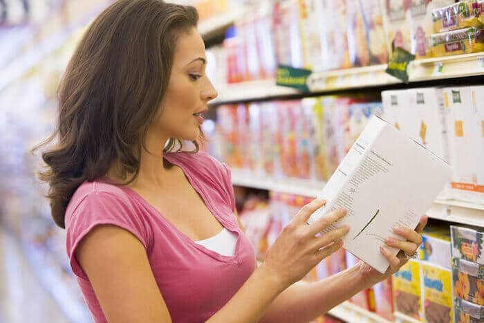healthy eating read food labels
