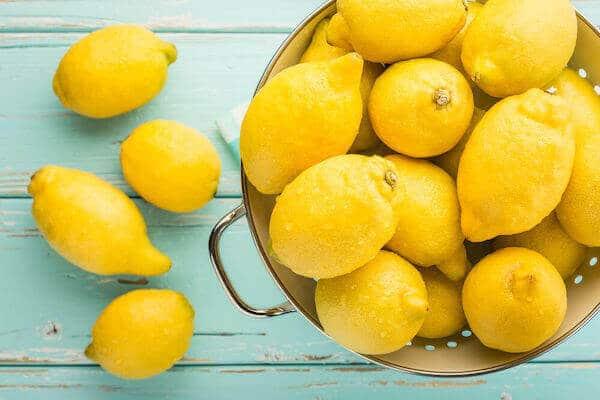 healthy living fresh lemons