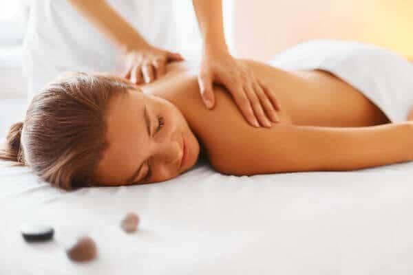 massage on retreat