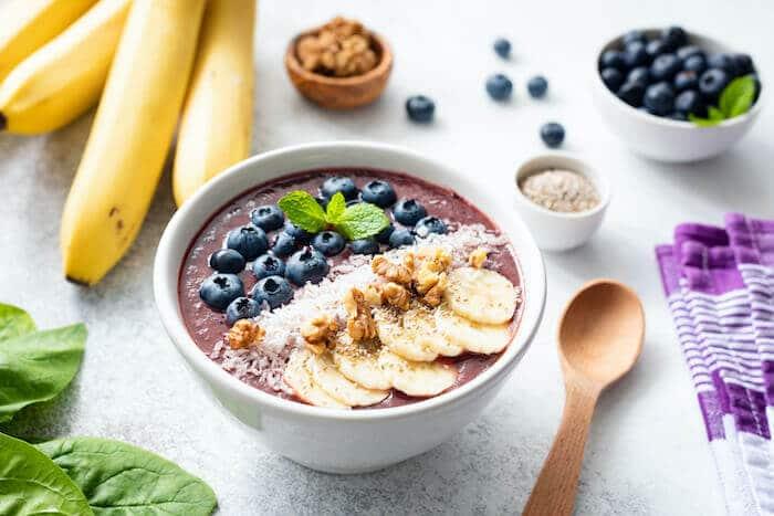 healthy foods açaí bowl