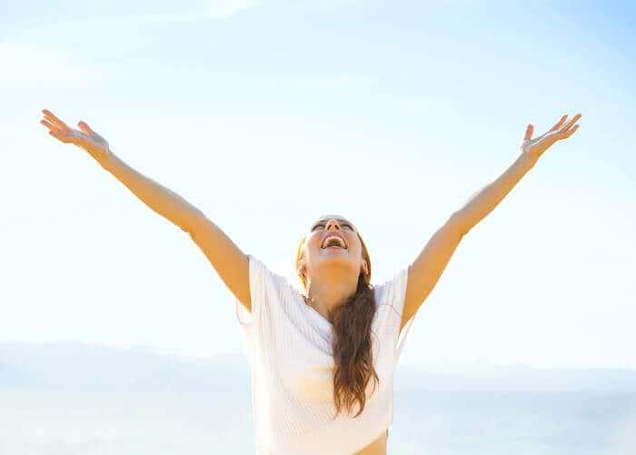 psych-k benefits happy woman
