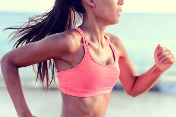 inspiring woman running