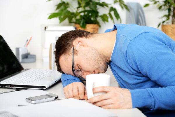 lack of sleep drains energy