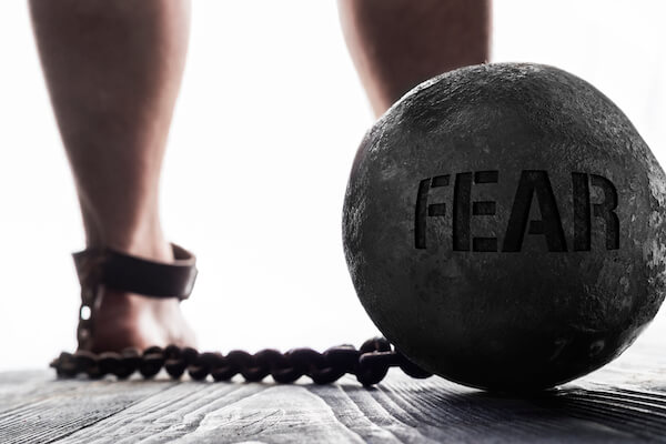 low vibration emotion fear